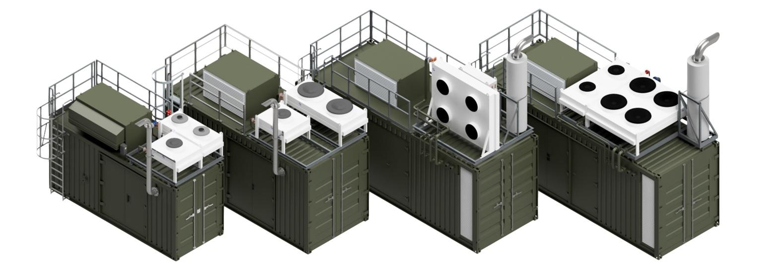 kogenerace kontejner